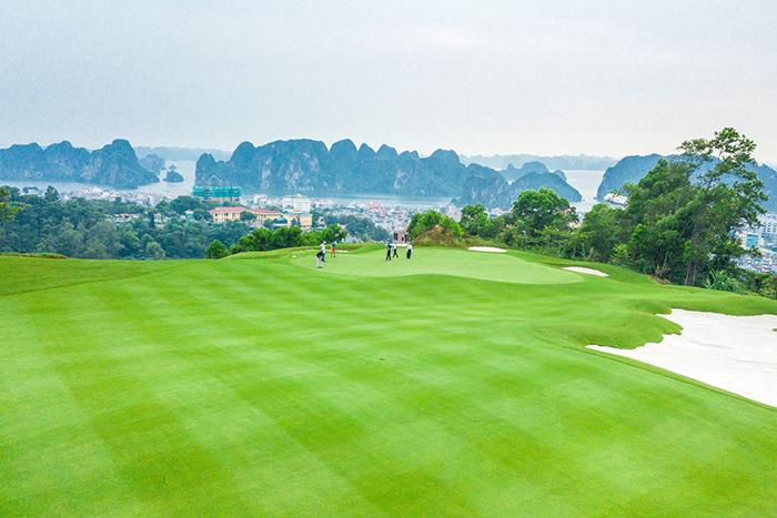 FLC Ha Long Golf Club, sân golf tổ chức nhiều giải đấu lớn.