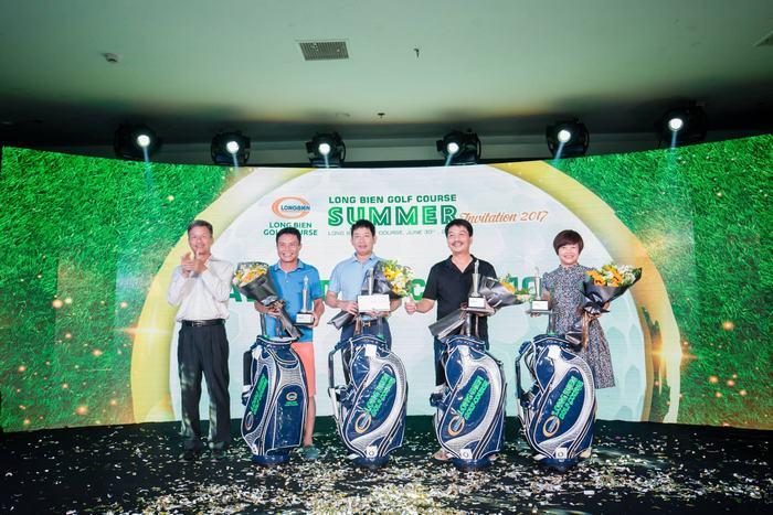 "Golfer đạt giải trong Giải đấu ""Long Bien Golf Course Summer Invitation 2017"