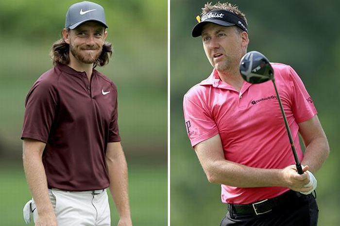 2 tay golf người Anh chia sẻ ngôi đầu