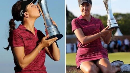 Georgia Hall lên ngôi Women's British Open với tổng gậy -17