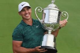 Brooks Koepka dẫn đầu Top 8 golfer