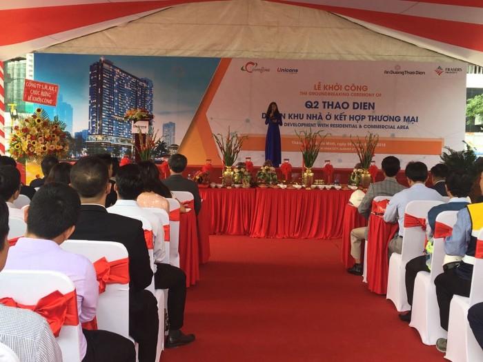 Lễ khởi công dự án Q2 THAO DIEN