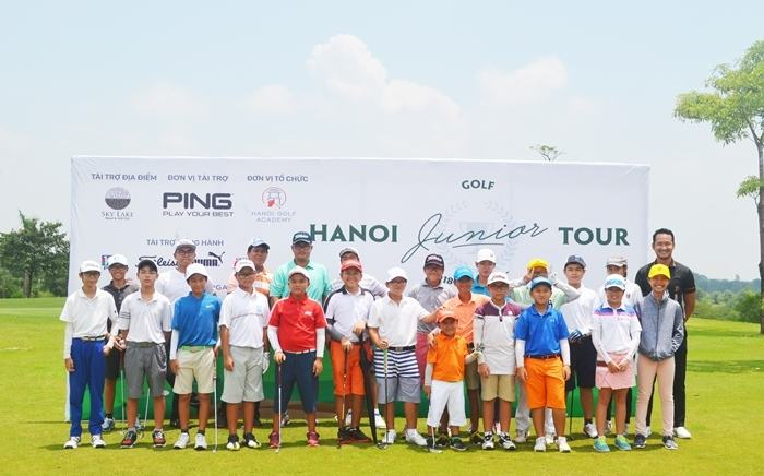 Khai mạc vòng 5 Hanoi Junior Golf Tour 2018