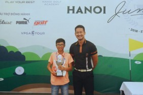 Nguyễn Quang Trí vô địch vòng 5 với +11 gậy