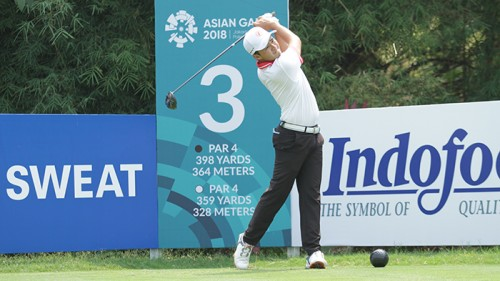 Nguyễn Phương Toàn có được vòng đấu điểm âm đầu tiên tại ASIAD