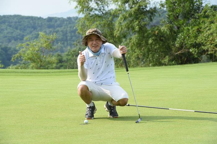Golfer  Lee Sang Hoo