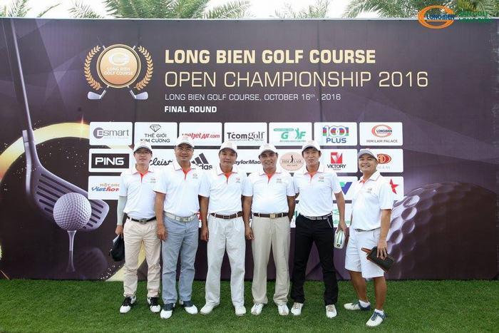 """Golfer tham gia Giải đấu """"Long Bien Golf Course Championship 2016"""""""