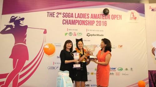 Hanako vô địch SGGA