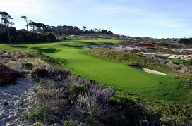 4th Hole, Spyglass Hill Golf Course,  Pebble Beach, CA
