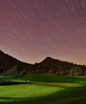 How Santa sees golf courses