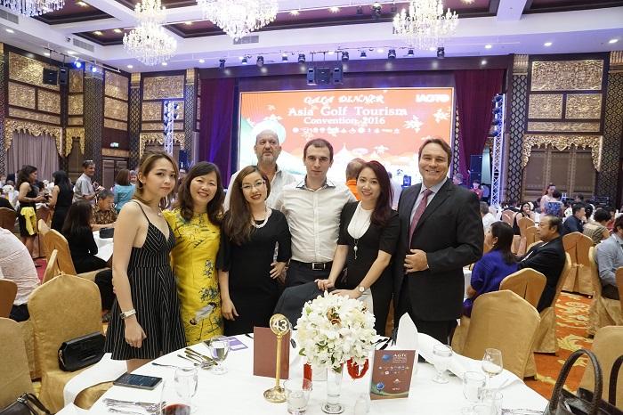 Đoàn Việt Nam tại AGTC 2016