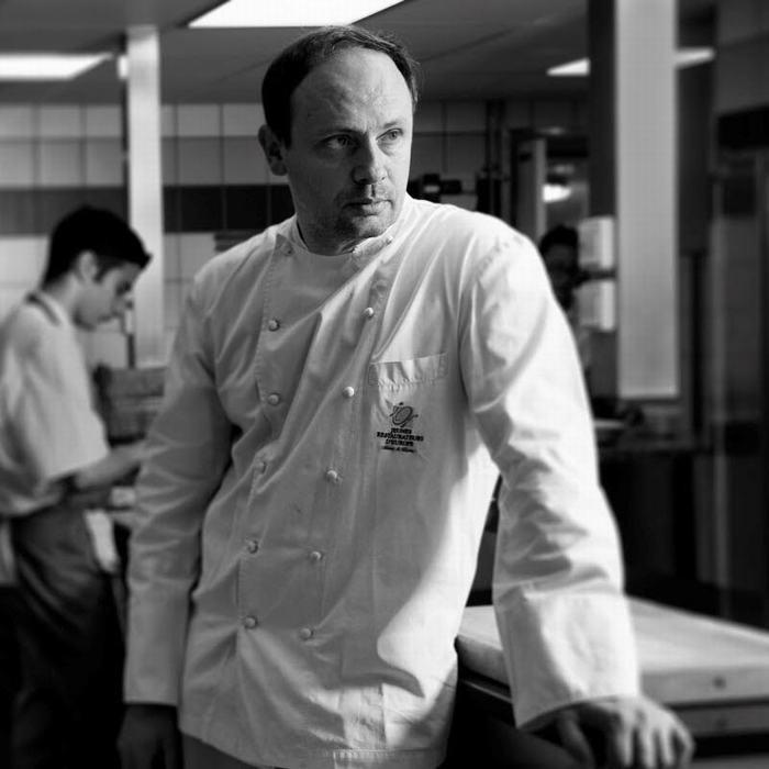 Michelin chef Thierry Drapeau
