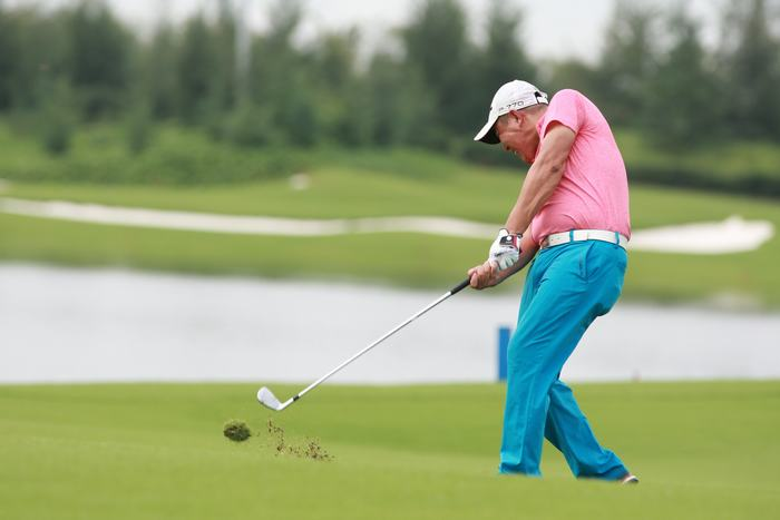 Golfer Chu Tất Thắng