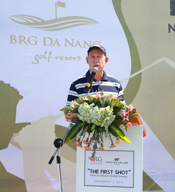 Ông Paul Stringer - Chủ tịch Nicklaus Châu Á Thái Bình Dương