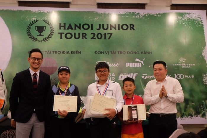 Từ trái- phải: Nguyễn Đặng Minh, Nguyễn Bảo Long và Đoàn Uy