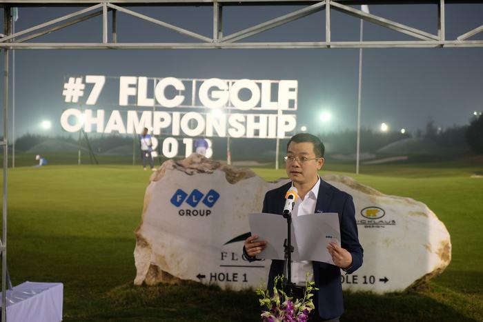 Ông Trần Quang Huy – Tổng BTC giải phát biểu tại buổi lễ khai mạc