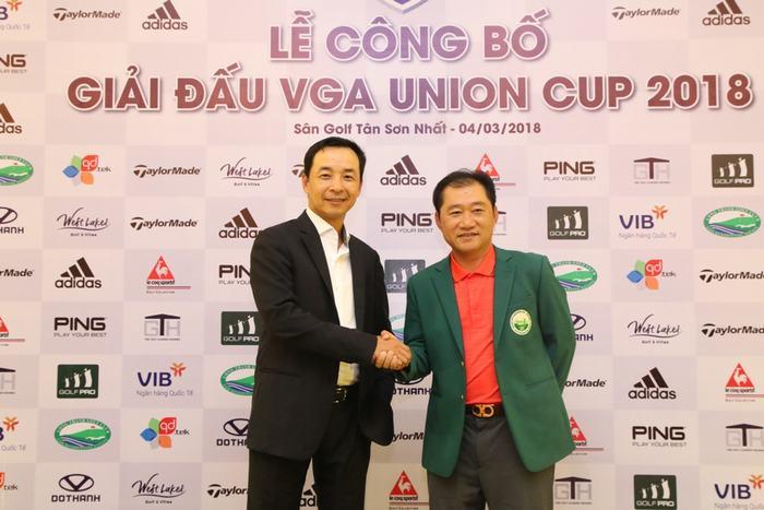Lê Hùng Nam (trái) và Andrew Hùng Pham (Ảnh: VGA)