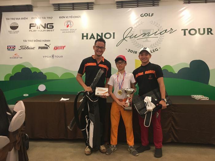 Nguyễn Quang Trí vô địch vòng 3 với 81 gậy