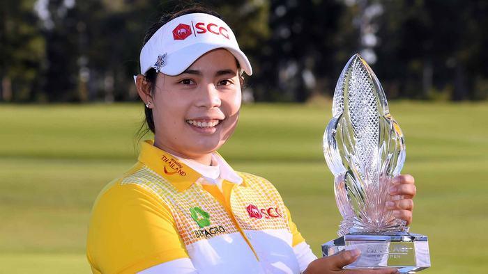 Moriya Jutanugarn lên ngôi sau 156 giải LPGA