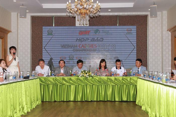 "Họp báo giải ""Vietnam Caddies Championship 2018"""