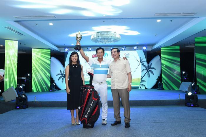 Golfer Phạm Quốc Phương vô địch giải đấu với 79 gậy