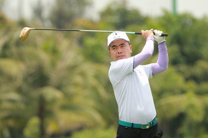 Ông Nguyễn Hồng Vinh - Chủ tịch CLB Golf Học viện Tài chính