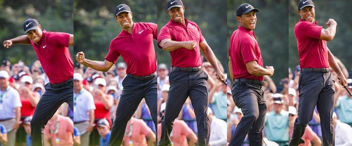 Tiger Woods giành ngôi Á Quan tại PGA Championship 2018