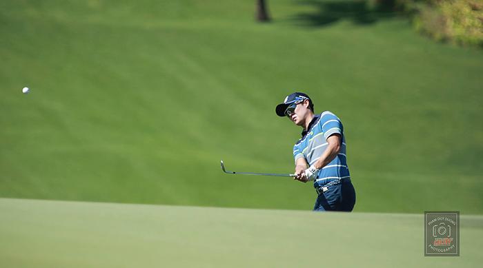 Golf thủ Park Ji Woon. Ảnh: Duy Dương