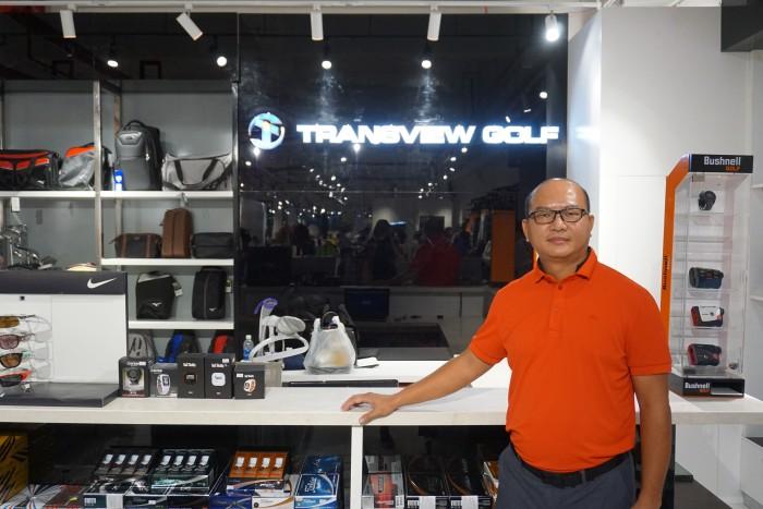 Ông Phan Chí Vỹ - Giám đốc Transview Golf Việt Nam
