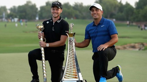 Danny Willett và Francesco Molinari