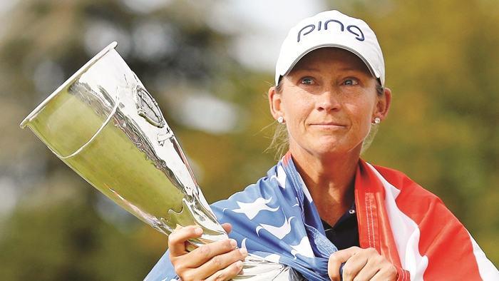 Angela Stanford nữ golfer hàng đầu nước Mỹ