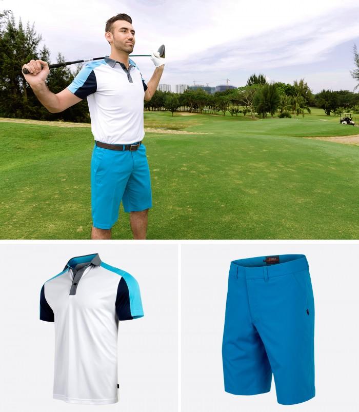 Chất liệu vải là một trong những điểm mạnh mà Arisle muốn giới thiệu đến golfer