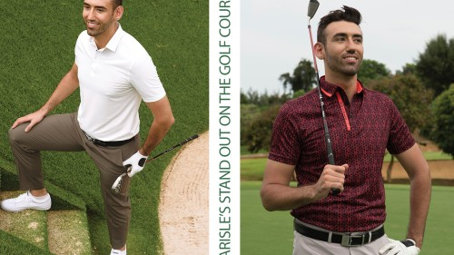 Classy, Elegant look on golf course