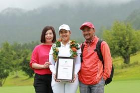 Gia đình golfer Thảo My