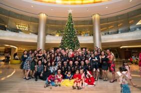 Pullman Hanoi Xmas tree lighting 2018