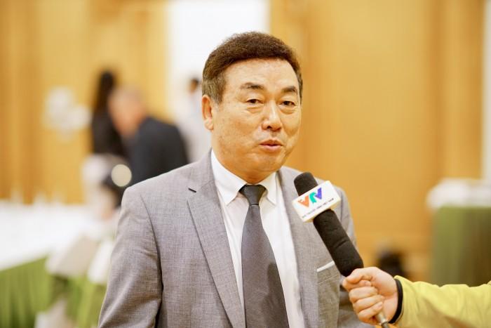 Ông Kim Chong Ul - Chủ tịch Hiệp hội golf Hàn Quốc tại Việt Nam sẽ đồng hành cùng các giải golf chuyên nghiệp trong thời gian tới