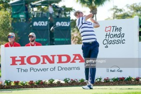 PALM BEACH GARDENS, FL - FEBRUARY 28: Justin Thomas tees off on the twelfth hole tee box during the first round of The Honda Classic at PGA National Champion course on February 28, 2019 in Palm Beach Gardens, Florida. (Photo by Ben Jared/PGA TOUR)