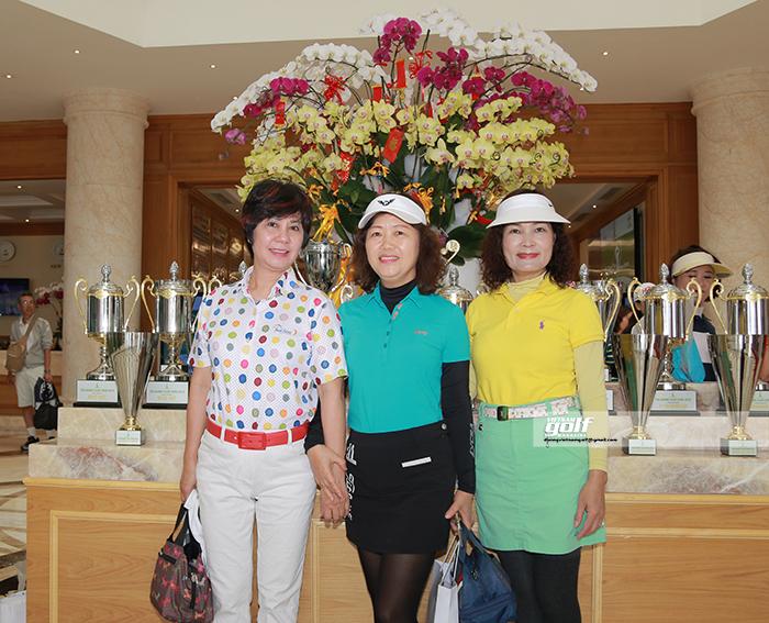 Giải đấu là dịp để các Nữ golfer giao lưu cùng nhau