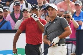 Tiger Woods thất bại trước Molinari ở The Open 2018