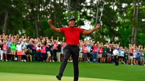 Tiger Woods lần thứ 5 chiến thắng tại The Masters