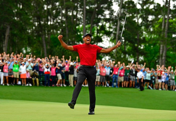 Tiger Woods lần thứ 5 chiến thắng tại The Masters