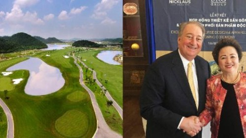 BRG Chairman Nga Meets with Nicklaus Executive Chairman Howard Milstein