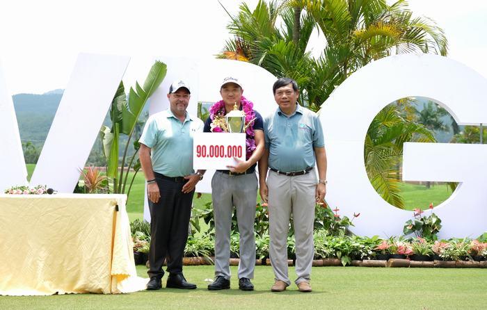 Park Sang Ho giành 90 triệu cho chức vô địch