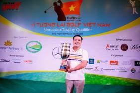 Golfer Đỗ Duy Hiền bảo vệ thành công chức vô địch