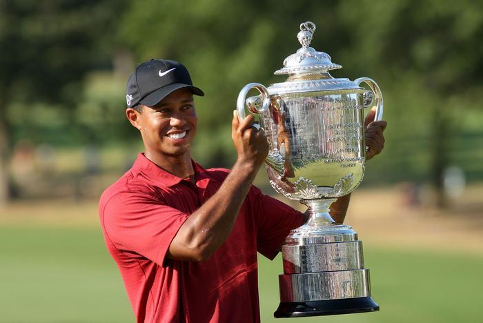 Tiger Woods từng 4 lần lên ngôi PGA Championship