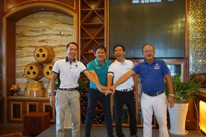 Những thành viên chủ chốt trong Lãnh đội của Tuyển Miền Nam (Golf Trần Lê Duy Nhất vắng mặt)