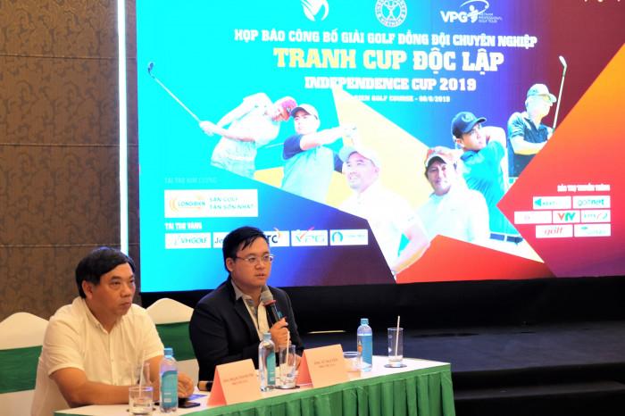 Họp báo công bố giải golf Cúp Độc lập 2019 – Independence Cup 2019