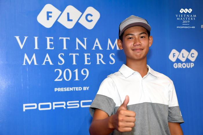 Đặng Quang Anh tại FLC Vietnam Masters 2019. Ảnh: Quang Thắng